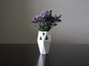 Geo Vase Light 3d printed A petite angular vase.  Its geometric lines contrast and compliment it's inhabitants.