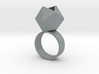 Icosahedron Planter Ring 3d printed