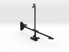 Apple iPad mini 3 tripod & stabilizer mount 3d printed