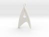 Starfleet Command Badge pendant 3d printed