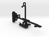 Lava Iris Atom tripod & stabilizer mount 3d printed