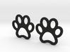 Paw Print Earrings - Small 3d printed
