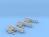3-Pack Vaksai Fighter Variant 1AB 1/270 3d printed