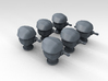 1/400 RN WW2 HACS MKIII Covered (6) 3d printed 3d render displaying product detail