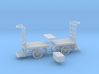HO Scale (1/87) - Electric Baggage Cart 3d printed