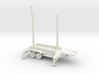 1/200 Scale Patriot Missile Communication Trailer 3d printed