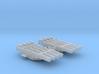 "1/600 Leander Class 21"" Quad Torpedo Tubes x2 3d printed 1/600 Leander Class 21"" Quad Torpedo Tubes x2"