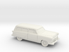 1/87 1952 Ford Crestline Ranch Wagon 3d printed