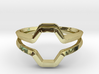 Honey double, Ring US size 8, d=18,2mm  3d printed