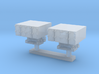 1350 Scale Mk 25 BMPDS Sea Sparrow Launchers (Smoo 3d printed