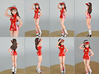 1/24 or G-Scale Race Queen Asuka 3d printed