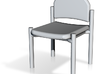 148Stack Chair - STL File Created By Vectorworks 2 3d printed