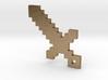 Pixel Sword Pendant 3d printed