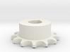 Pignone Per Catena Semplice ISO 04B-1 P6 Z13 3d printed