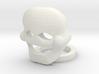 Custom Mime Mask 3d printed
