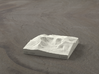 3'' Mt. Katahdin, Maine, USA, Sandstone 3d printed Radiance rendering of Katahdin from the East.