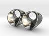 Hyperbole 01 Earrings 3d printed