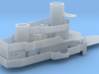 """1/350 Cleveland class """"Square Bridge"""" 3d printed Rendering of assembled model.  Not a photo."""