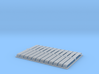 HO 24x10ft Bullnose Corrugated Iron Sheets 3d printed