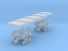 NER Quad bolster wagon kit with bogies 3d printed
