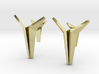 YOUNIVERSAL Origami Cufflinks 3d printed