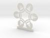 Customizable Snow Globe Snowflake Ornament 3d printed