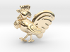 Rooster-Zodiac Pendant 3d printed