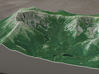 Mt. Katahdin, Maine, USA, 1:25000 Explorer 3d printed