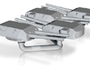 1/1250 KM BB Bismarck Guns 3d printed