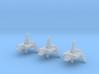 (Armada) 3x Sentinel Landing Craft 3d printed