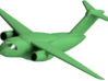 022A EMBRAER KC-390 1/288 3d printed