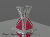 Stand Sith Holocron 3d printed 3D render