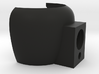 520DX Harmonica Microphone Holder 3d printed