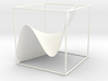 A 3d graph of cubic functions 3d printed