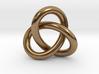 Robust Large Trefoil Knot Pendant 3d printed