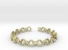 Honey Lines, Bracelet Medium Size d=65mm 3d printed
