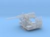 1/200 USN 5 inch 25 (12.7 cm) AA Gun 3d printed
