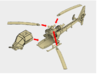 035B Modified Gazelle 1/144 3d printed Assembly instructions