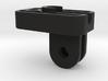 Pinned GoPro bike headlamp mount 3d printed