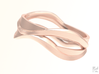 Full Dual Ring 3d printed Rose Gold