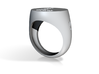Ring Chevaliere L 10 3d printed