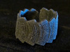 AK-47 Magazines #1, Rough Texture, Ring Size 12 3d printed