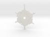 Snowflake Pendant/Earring 3d printed