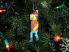 Brave Knight Christmas Ornament 3d printed