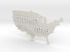 Trump 2016 USA Ornament - Build The Wall! 3d printed