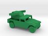 1/200 Scale Humvee Avenger SAM 3d printed