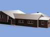 Brady Bunch Home (Studio City, CA) - Smaller Model 3d printed 3D Model Rendering