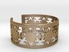 Snowflake Bracelet Medium 3d printed