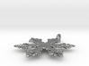 Snowflake Pendant - Style J 3d printed