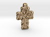 S Chain Cross Pendant 3d printed